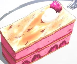 aesthetic, food, and anime food image
