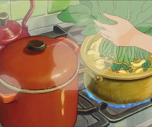 anime, food, and studio ghibli image