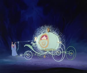 cinderella, disney, and magical image