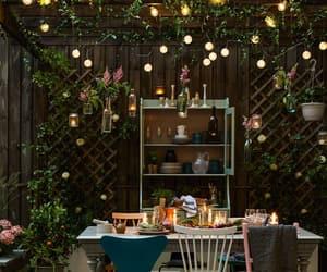 design, terrace, and garden image