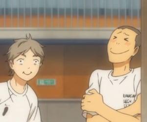 anime, tanaka, and haikyuu image