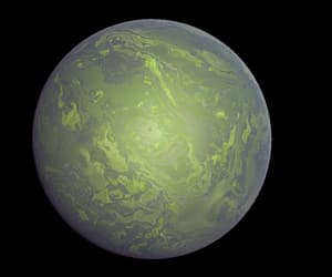planet and space image