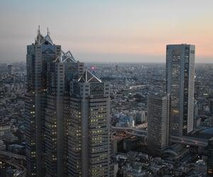 city, japan, and landscape image