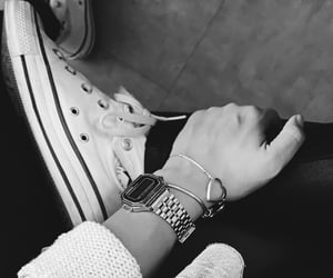 all star, converse, and casio image