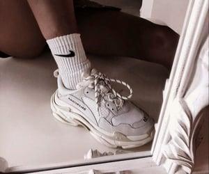 Balenciaga, nike, and sneakers image