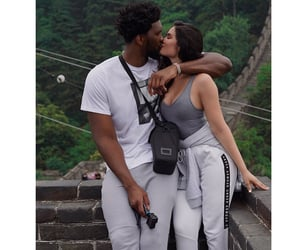clothes, couple, and goals image