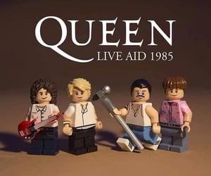 band, lego, and Freddie Mercury image