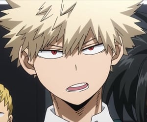anime, my hero academia, and bakugou image
