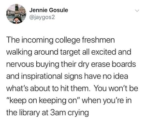 college and freshman image