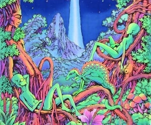 alien, drugs, and high image