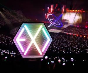 exo, kpop, and exo lightstick image