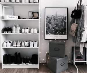 shoes, room, and white image