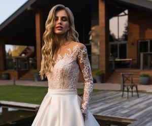lace and wedding dress image