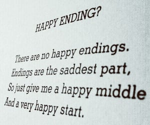 aesthetic, quotes, and happy ending image