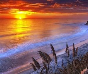 atardecer, belleza, and luz image
