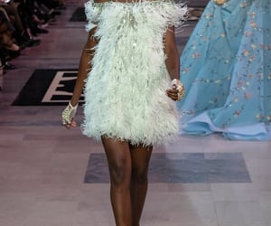 bling, Couture, and dress image
