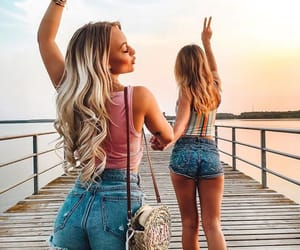girl, goals, and friendship image