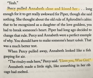 beautiful words, quotes, and annabeth chase image