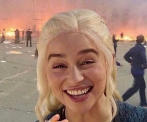 funny, mother of dragons, and khalessi image