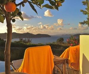 orange, aesthetic, and summer image