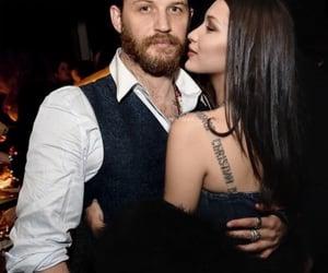 couple, tom hardy, and bella hadid image