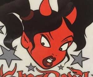 aesthetic, Devil, and cartoon image