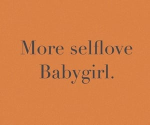 quotes, selflove, and orange image