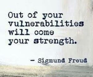quotes, sigmund freud, and strength image