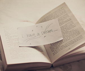Dream, book, and I have a dream image