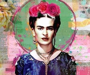 decoupage, frida kahlo, and wallpaper image