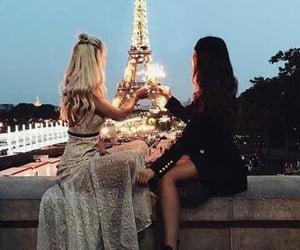 paris, friends, and friendship image