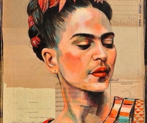frida kahlo, pintora, and icono image