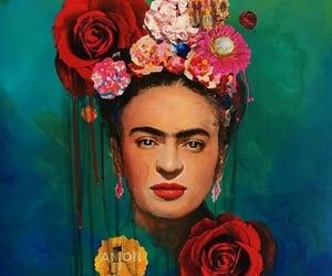 background, pintora, and icono image