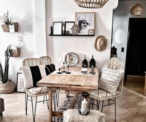 home, inspiration, and dining room image