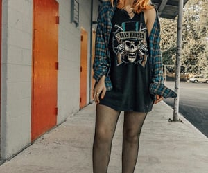 grunge, outfit, and punk image