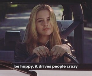 Clueless, car, and girl image