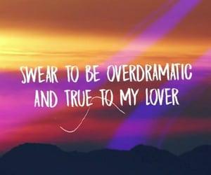 lover, Lyrics, and Taylor Swift image