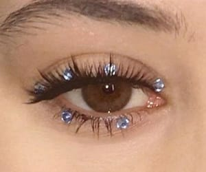 makeup, eye, and beauty image