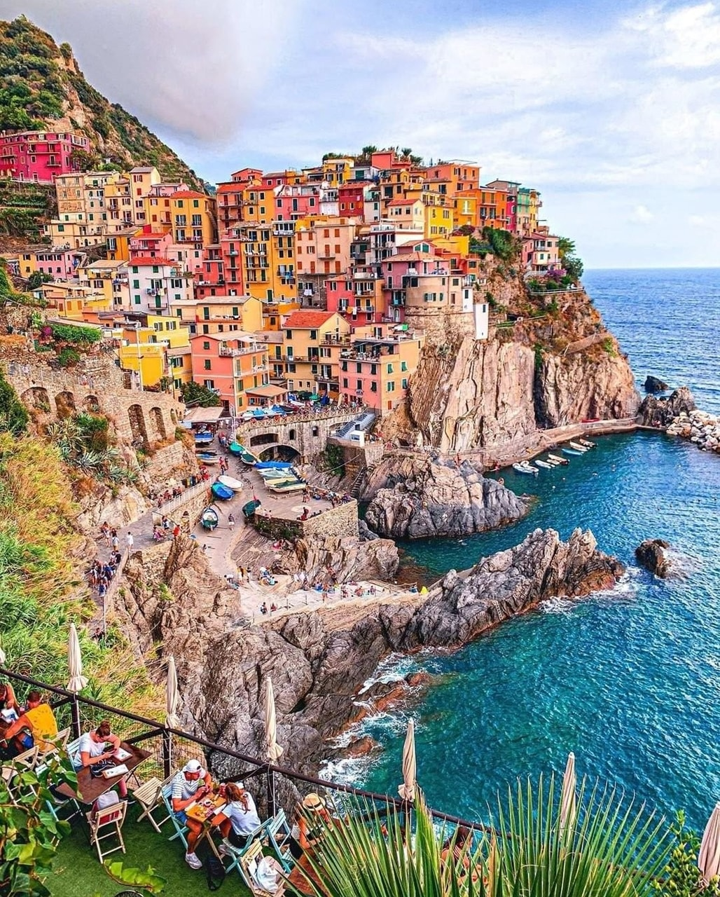 The Heart Of Cinque Terre cinque terre, italy uploaded by carrie on we heart it