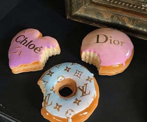 donuts, food, and dior image