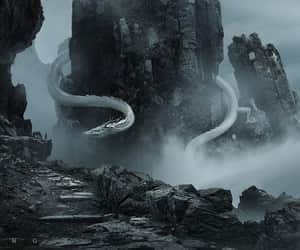 dragon, fantasy, and guodong zhao image