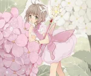 anime, beautiful, and sakura kinomoto image