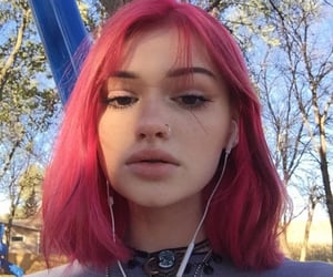girl, aesthetic, and female image