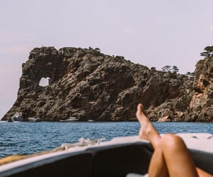 summer, sea, and travel image