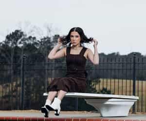 girl, model, and photoshoot image