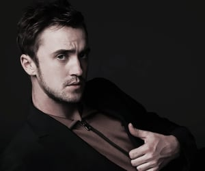 tom felton and draco malfoy image