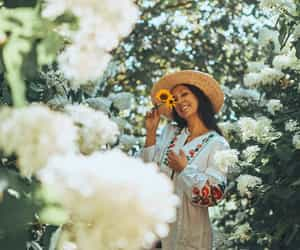 depth, fashion, and flowers image