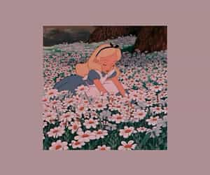 disney, flowers, and wallpaper image
