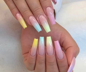 colors, fake nails, and instagram image