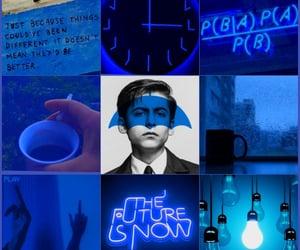 aesthetic, tua, and blue image